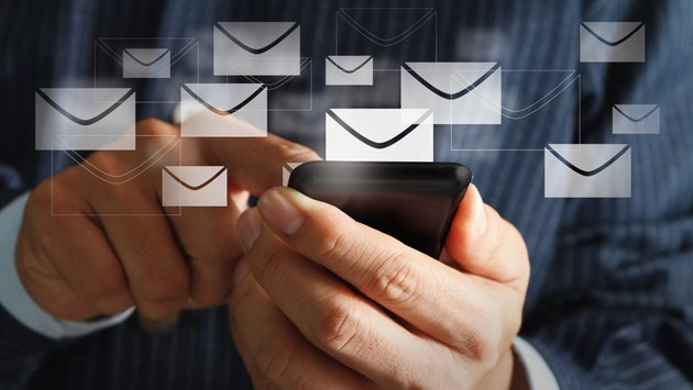Email click-through rate